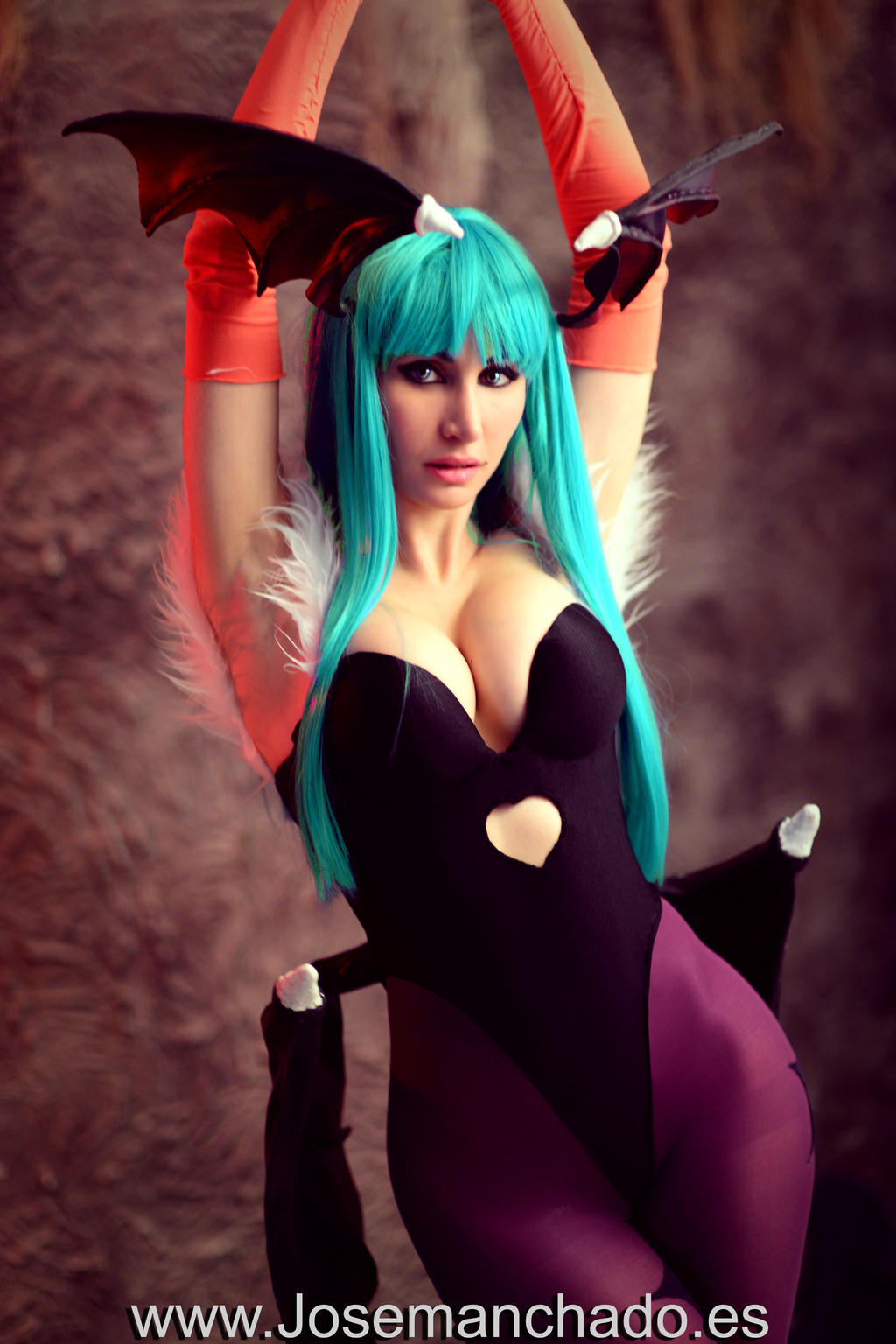 Morrigan Cosplay from Darkstalkers by Morganita86