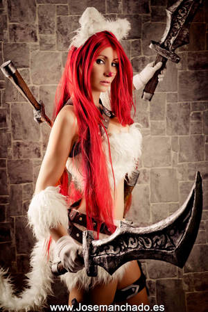 Kitty Cat Katarina Cosplay. League of Legends.