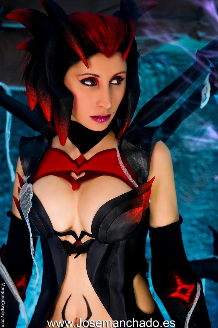 Elise Cosplay. League of Legends. by Morganita86