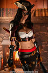 Bilgewater Katarina Cosplay. League of Legends