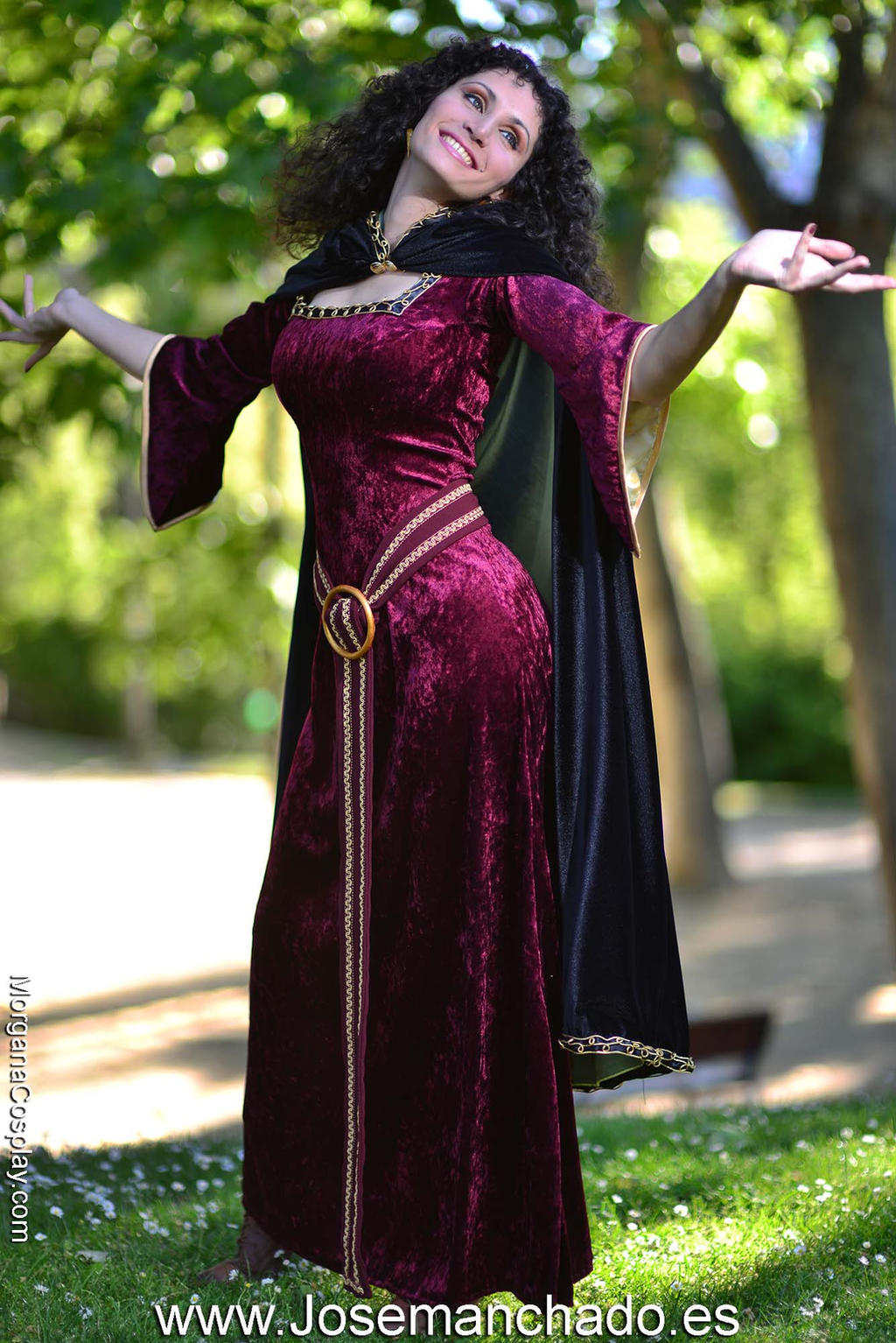 Mother Gothel Cosplay By Morganacosplay On Deviantart