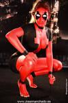 Lady Deadpool Bodypaint
