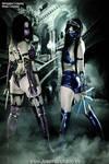 Mileena Vs Kitana - Mortal Kombat 9