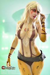 Cheetara Bodypaint by MorganaCosplay