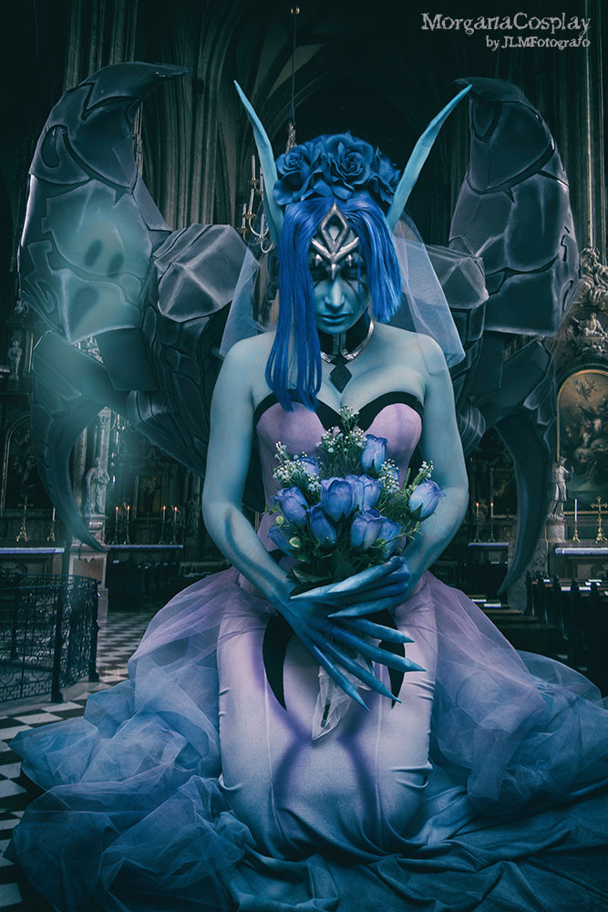 Ghost Bride Morgana Cosplay from League of Legends by MorganaCosplay