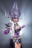 Syndra Cosplay from League of Legends by MorganaCosplay