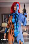 Jean Grey - Mystique Bodypaint