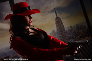 GeekAndMonday - Carmen Sandiego by MorganaCosplay