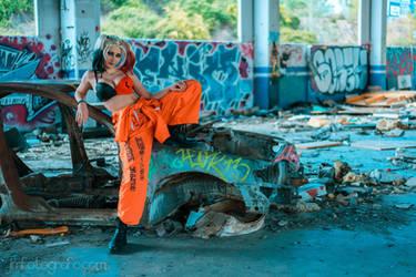 Harley Quinn Cosplay - Custom Version by MorganaCosplay