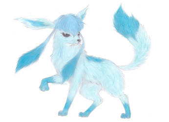 Glaceon by captainfuu