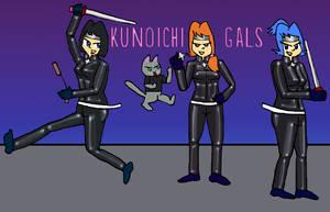 Kunoichi Gals 2017 by NinjaNick101