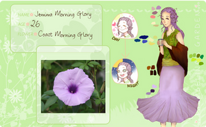 Thumbelina's Garden App- Jemima Morning Glory