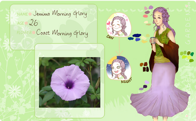 Thumbelina's Garden App- Jemima Morning Glory by BeetleBeebs