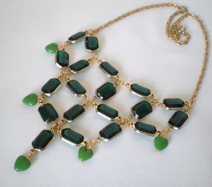 Emerald City Necklace by RetroRevivalBoutique