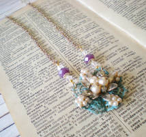 Floral Whispers Collection Necklace #2 by RetroRevivalBoutique