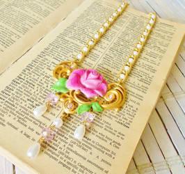 Enchanted Rose Necklace