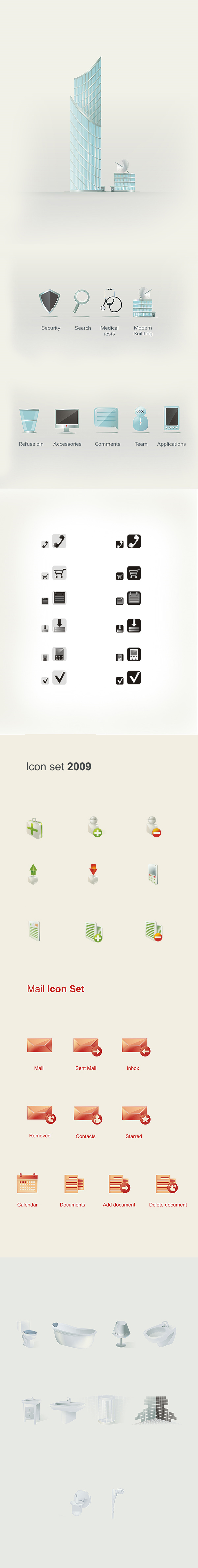 Vector Icons by brainchilds
