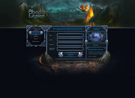 Shadow legion game via www. by brainchilds