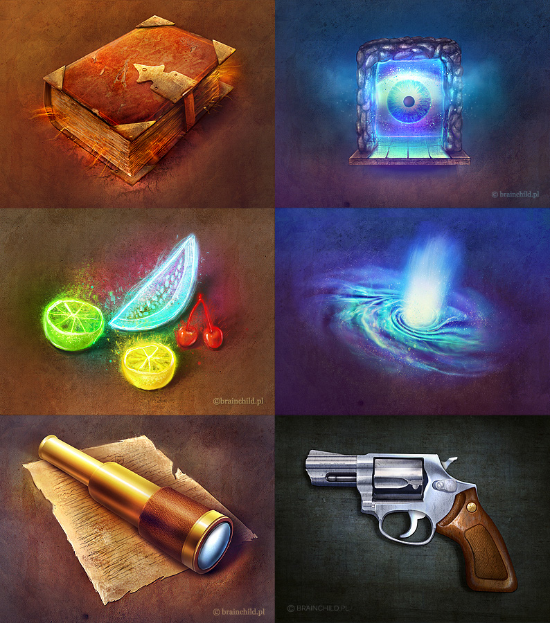 rpg icons by brainchilds