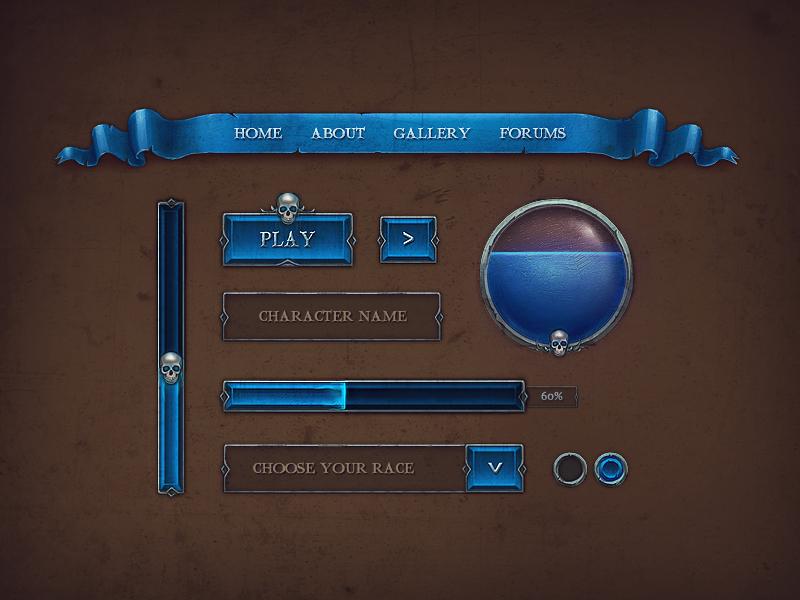 Дизайн интерфейсов в играх 43
