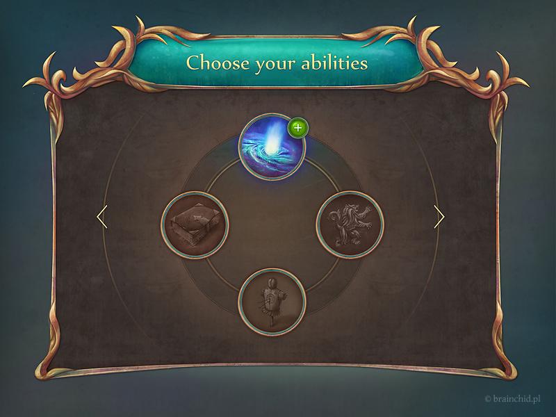 Fantasy GUI set - rpg style by brainchilds