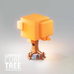 lowpoly 3d art - FULL TUTORIAL