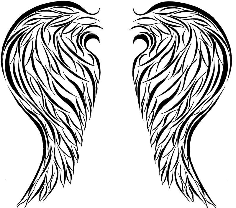 Angel Wings tattoo by champagnetears33 on DeviantArt