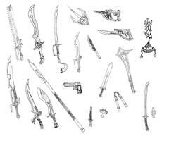 Random Weapons 4 by Bladedog