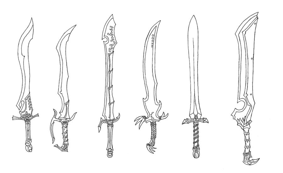 New Swords 9 By Bladedog On DeviantArt