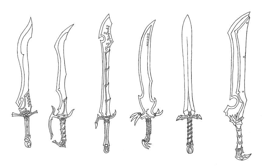New Swords 9 by Bladedog on DeviantArt
