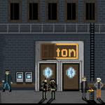 Deus Ex - NYC - Hell's Kitchen PixelArt