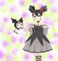 kurumi and kuromi by arisacat