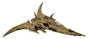 Dark Eldar - Razorwing Jetfighter (1)