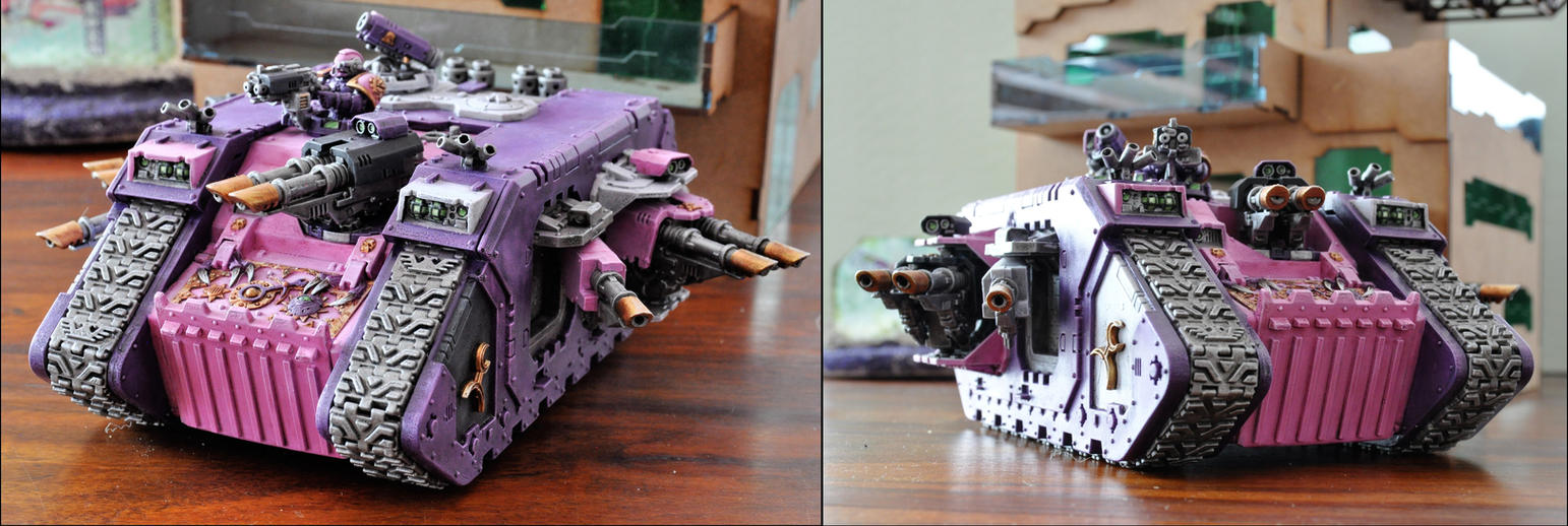 Emperors Children Land Raider by sejason