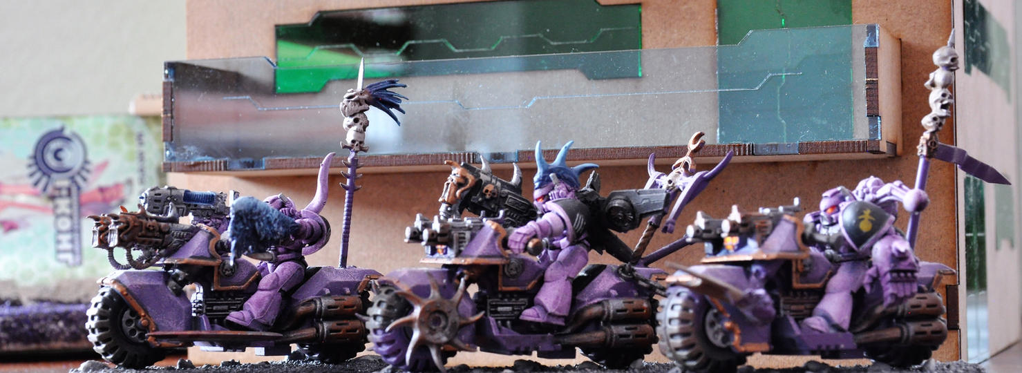 Emperors Children Biker by sejason