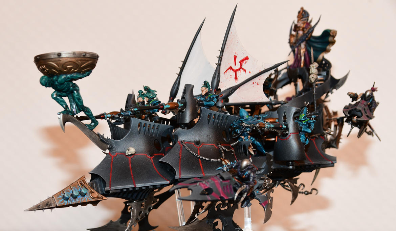 Dark Eldar - Dais for an Archon by sejason