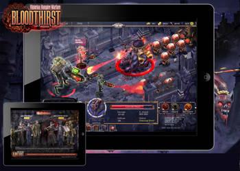 Bloodthirst : In Game Mockup