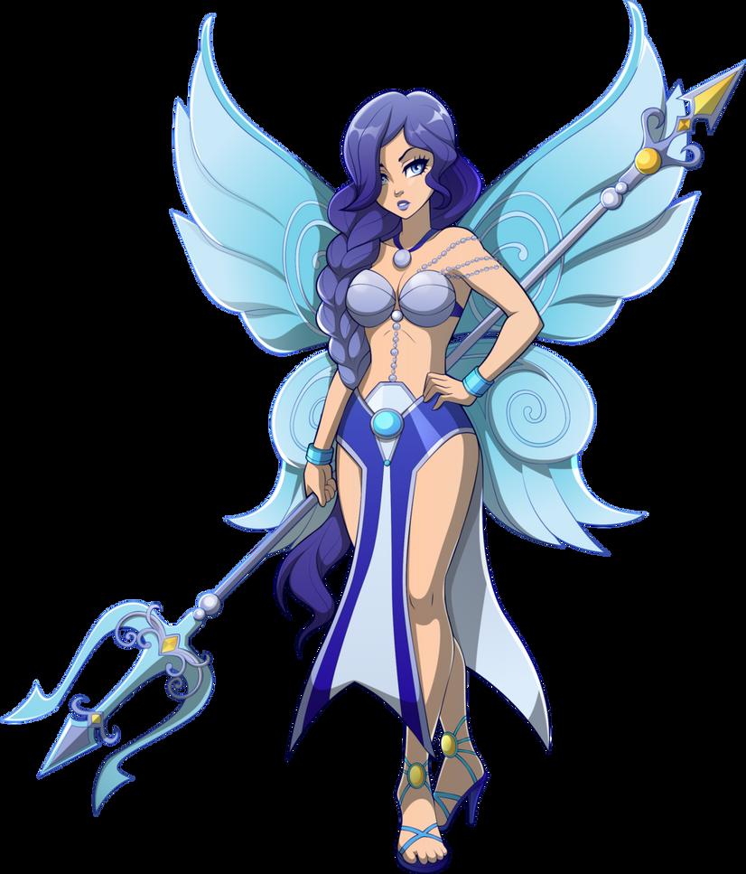 Aquamarine Fairy By Sparks220stars-dauqsvp by Wizardbane