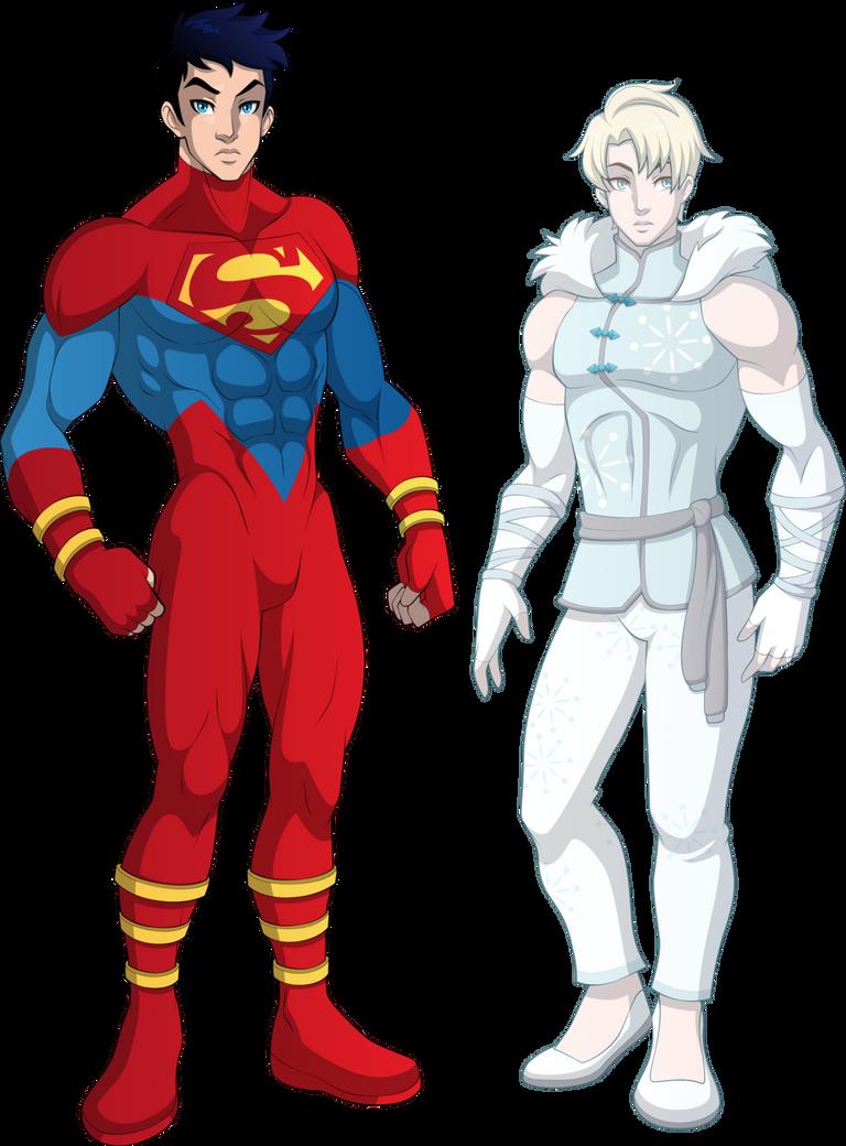 Superhero Teens By Sparks220stars-db6rp3x by Wizardbane