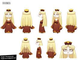 Ivanka - Character Design