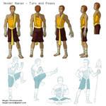 Naran - Character Design