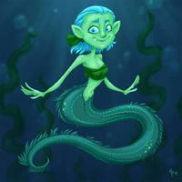 Moray Eel Mermaid