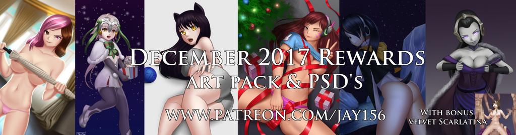 December patreon rewards by jay156