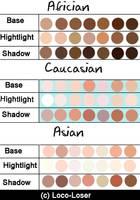 Skin Palette by Loco-Loser