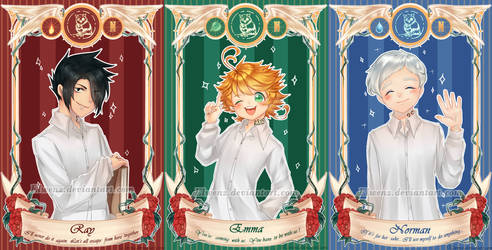 [ThePromisedNeverland] Ray Emma Norman [Card Ver.]