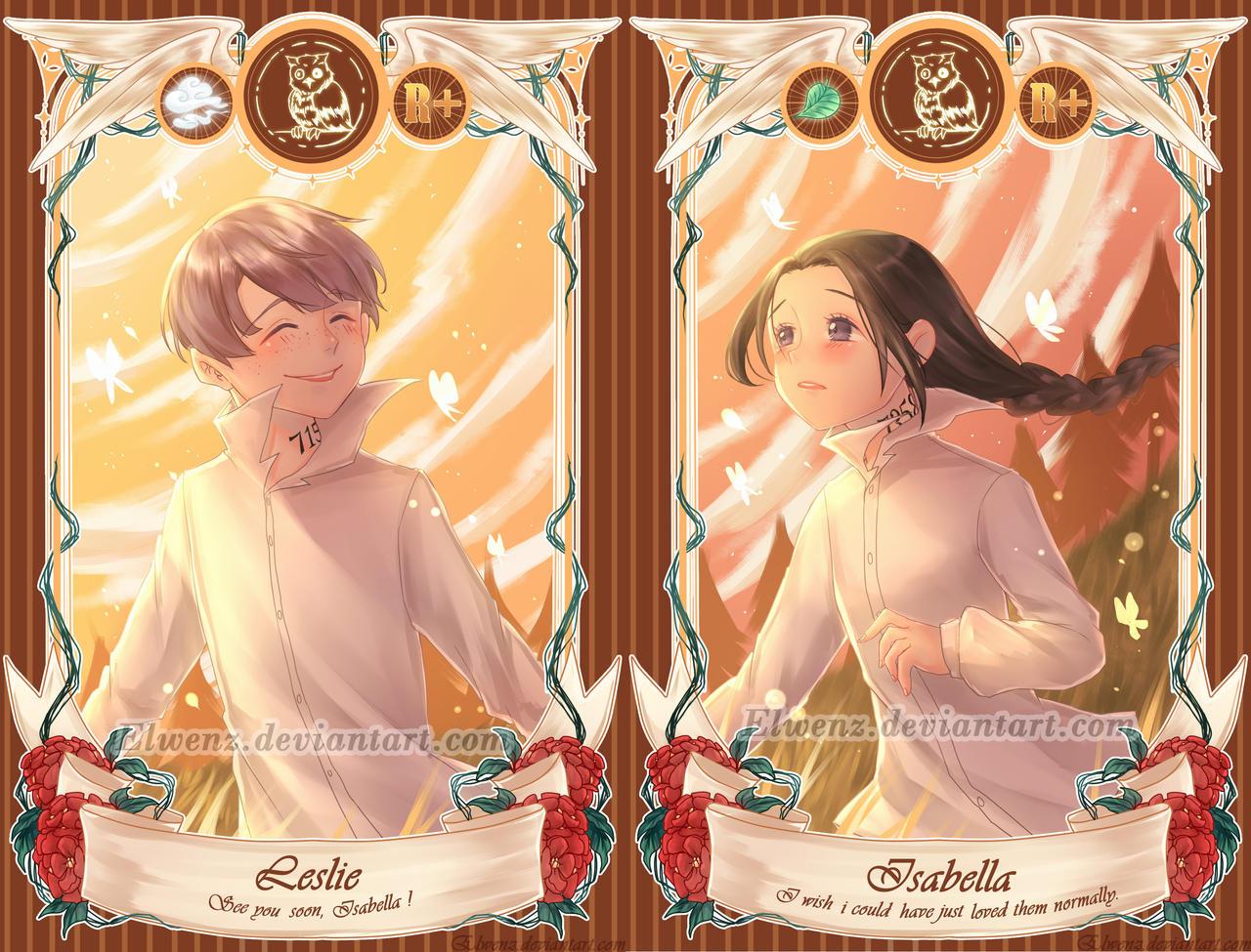 ThePromisedNeverland] Leslie x Isabella [Card V ] by Elwenz
