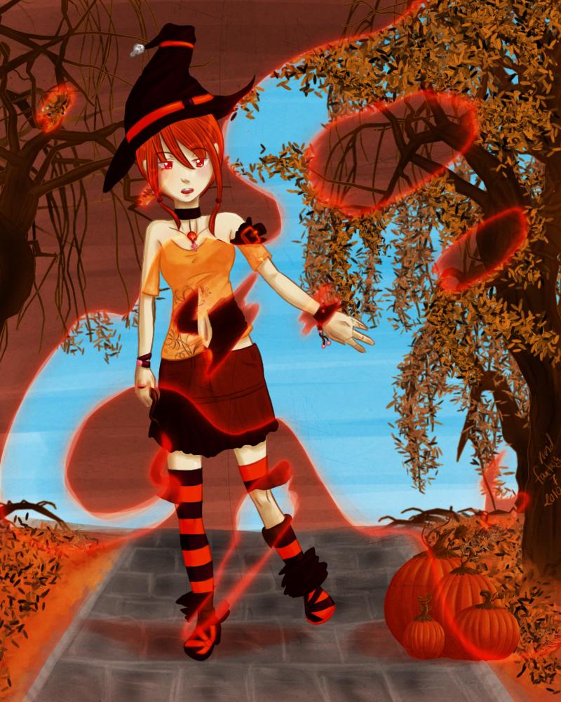 .:Magic of Fall:. by vividfantasy7