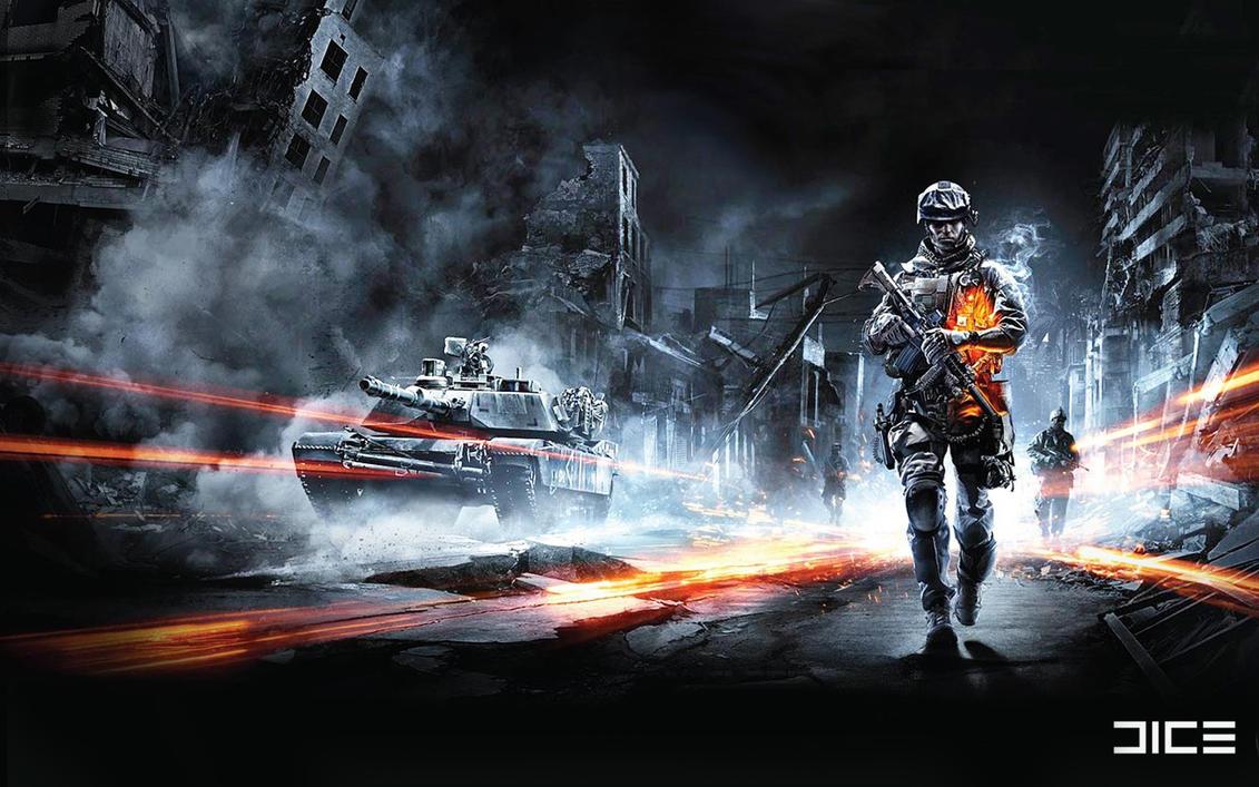 Battlefield 3 Wallpaper by adlms