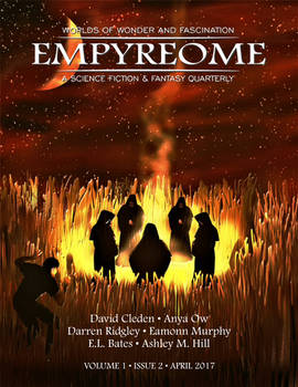 Empyreome Volume 1 Issue 2 Cover Art