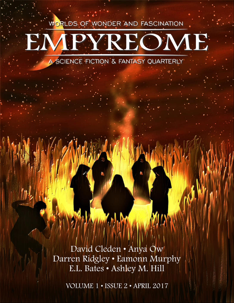 Empyreome Volume 1 Issue 2 Cover Art by RandallHzr